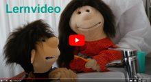 Lernvideo Zähne putzen